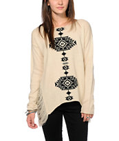 Lira City Slick Tribal Print Sweater