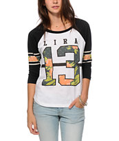 Lira Floral Football T-Shirt