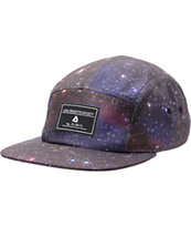 Lira Girls Galactic Black 5 Panel Hat