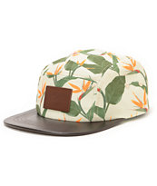 Lira Paradise Light Green 5 Panel Hat