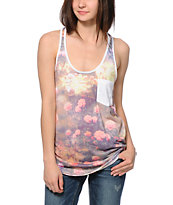 Lira Rose Pocket Tank Top
