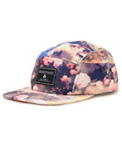 Lira Roses Natural 5 Panel Hat