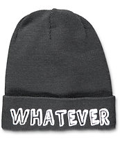 Local Heroes Whatever Forever Black Beanie