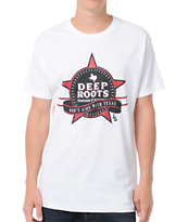 Local Legends Deep Roots White Tee Shirt