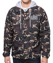 Loser Machine Clyde Camo Hooded Jacket