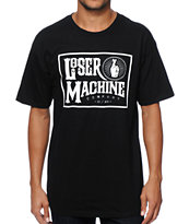 Loser Machine Lonesome White Tee Shirt