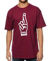 Loser Machine Suicide Hand T-Shirt