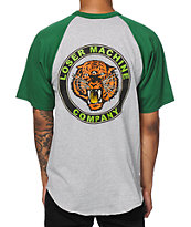 Loser Machine Tiger Eye Baseball T-Shirt