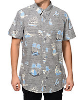 Lost At Sea Button Up Shirt