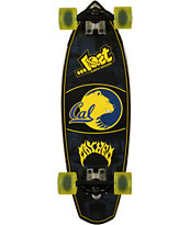 Lost California Golden Bears Rocket Mini 28 Cruiser Complete Skateboard