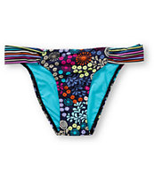 Lost Swimwear Prairie Retro Tab Side Bikini Bottom