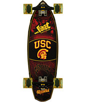 Lost USC Trojans Rocket Mini 28 Cruiser Complete Skateboard