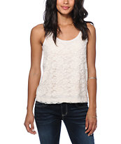 Love, Fire Crochet Front Tank Top