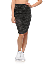 Lunachix Black Midi Skirt