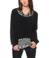 Lunachix Clarissa Aztec Pocket Hoodie