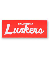 Lurk Hard Cali Lurkers Sticker