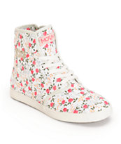 MOVMT Marcos Hi Floral Shoes