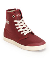 MOVMT Marcos Hi Wine Shoes