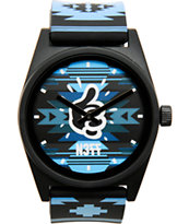 Mac Miller x Neff Daily Maclock Blue Native Print Watch