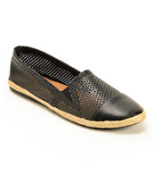 Madden Girl Portia Perforated Leather Shoes