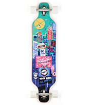 "Madrid Billboard Dream 39"" Drop Through Longboard Complete"