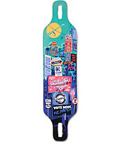 "Madrid Billboard Dream 39"" Drop Through Longboard Deck"
