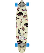 "Madrid Dude Fish 38"" Longboard Complete"