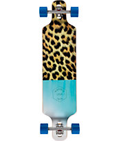 "Madrid Fur 40"" Drop Through Longboard Complete"