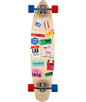 "Madrid Tags 38.375"" Longboard Complete"