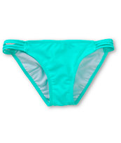 Malibu Bright Emerald Side Strap Bikini Bottom