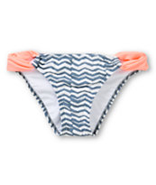 Malibu Orange Dream Tab Side Bikini Bottom