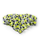 Malibu Pyramids Flounce Bikini Top