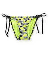 Malibu Pyramids Side Tie Bikini Bottom