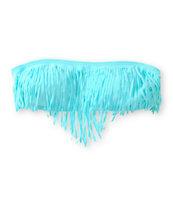 Malibu Sunkissed Fringe Bandeau Bikini Top
