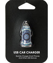 Mandala USB Car Charger