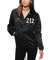 Married To The Mob 212 Satin Coach Jacket
