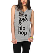 Married To The Mob Boys Toys Hip Hop Muscle Tee