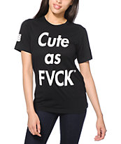 Married To The Mob Cute As FVCK T-Shirt