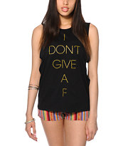 Married To The Mob Don't Give Muscle T-Shirt