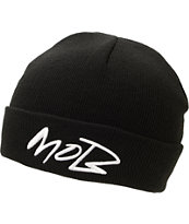 Married To The Mob Futuramob Black Fold Beanie