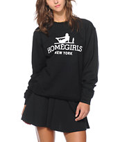 Married To The Mob Homegirls NYC Crew Neck Sweatshirt