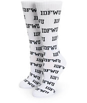 Married To The Mob IDFWU Crew Socks