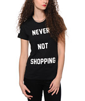 Married To The Mob Never Not Shopping T-Shirt