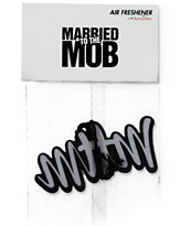 Married To The Mob Script Logo Air Freshener
