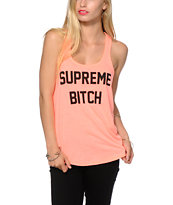 Married To The Mob Supreme Bitch Tank Top
