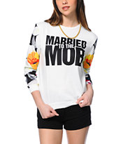 Married To The Mob Tropical Fantasy Crew Neck Sweatshirt