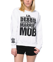 Married To The Mob x Lil Debbie White Crew Neck Sweatshirt