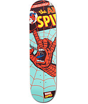 "Marvel x Santa Cruz Spiderman Hand 8.0"" Skateboard Deck"