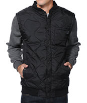Matix Asher Black Military Jacket