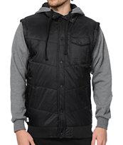 Matix Asher Chevron Vest Hoodie